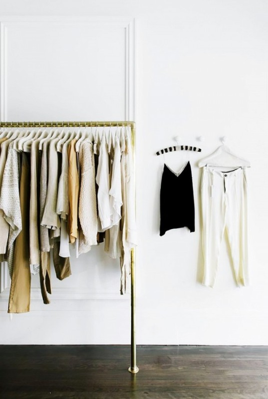 Picture Of simple and stylish minimalist closet ideas  6