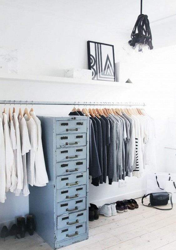 Picture Of simple and stylish minimalist closet ideas  7