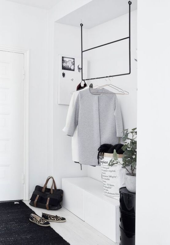 Picture Of simple and stylish minimalist closet ideas  9