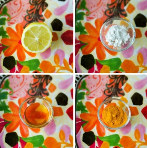 DIY Turmeric And Honey Face Mask For Exfoliating