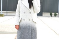 15 Charming Ombre Coats For This Season13