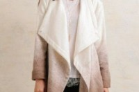 15 Charming Ombre Coats For This Season4