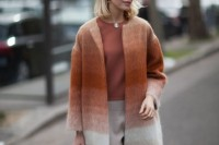 15 Charming Ombre Coats For This Season5