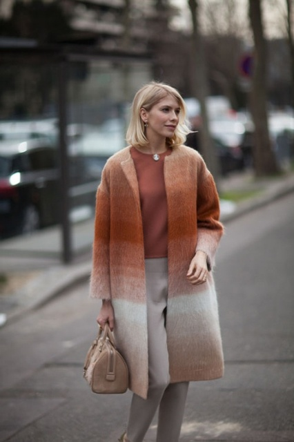 15 Charming Ombre Coats For The Cold Season