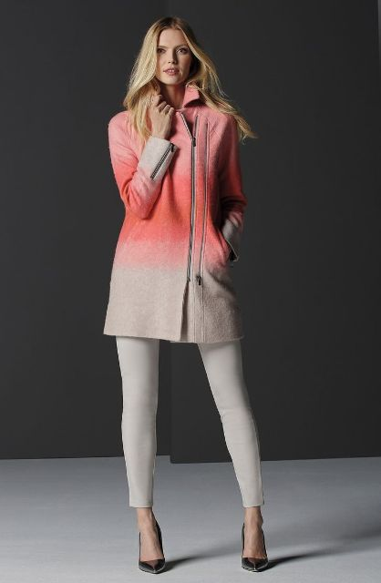 Picture Of Wonderful Asymmetrical Zip Coats For Winter 11
