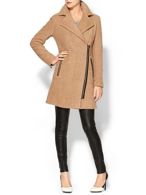 Picture Of Wonderful Asymmetrical Zip Coats For Winter 2