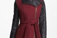 15 Wonderful Asymmetrical Zip Coats For Winter4