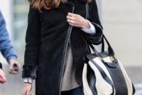 15 Wonderful Asymmetrical Zip Coats For Winter7