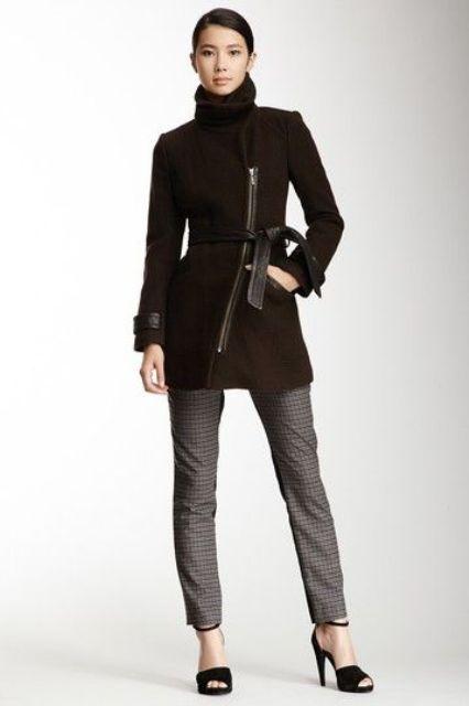 Wonderful Asymmetrical Zip Coats For Winter