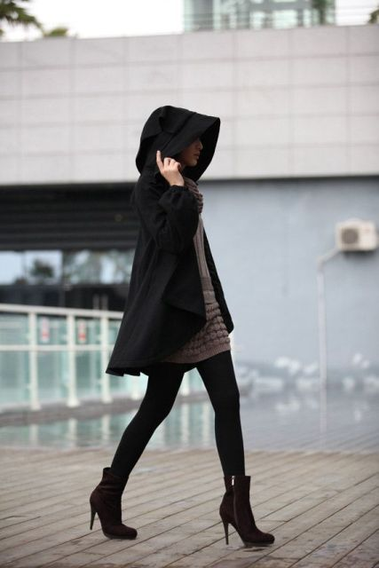 Picture Of Perfect Hooded Coat Ideas For Winter 13
