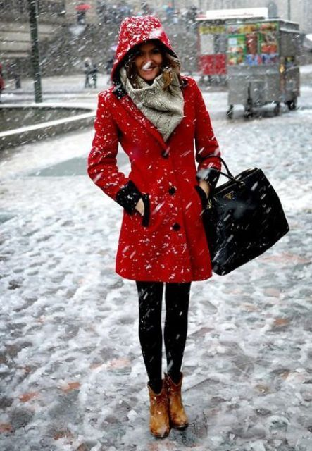 Picture Of Perfect Hooded Coat Ideas For Winter 4