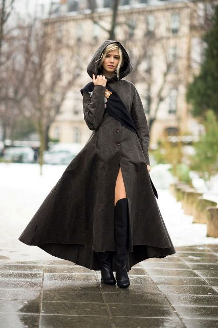 Picture Of Perfect Hooded Coat Ideas For Winter 5