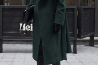 18 Chic Emerald Coats For Winter