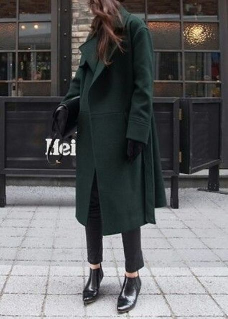 Chic Emerald Coats For Winter