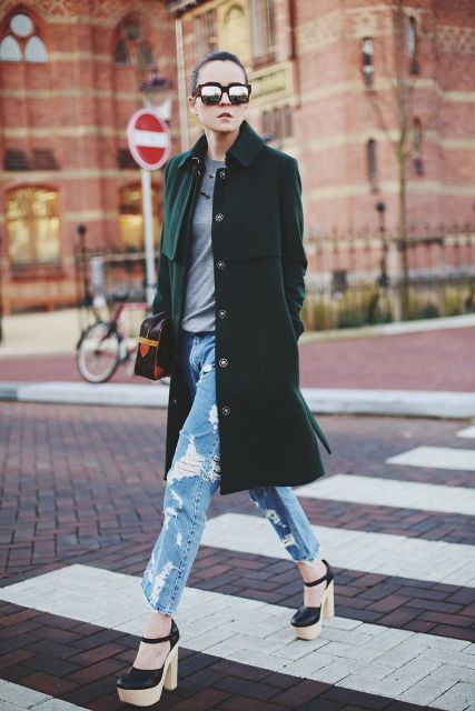 Picture Of Chic Emerald Coats For Winter 10