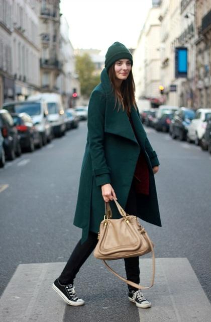 Picture Of Chic Emerald Coats For Winter 11