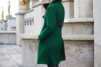 18 Chic Emerald Coats For Winter12