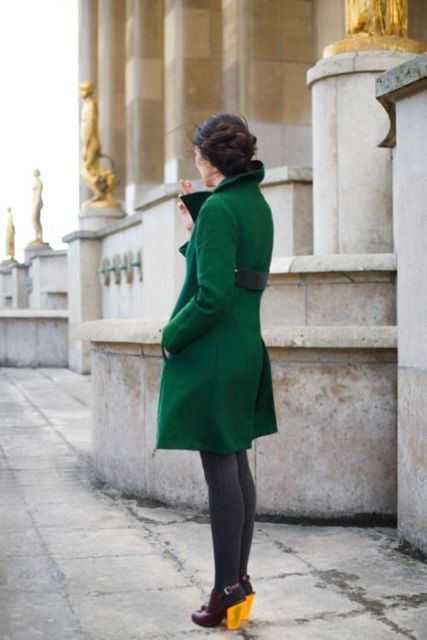 Picture Of Chic Emerald Coats For Winter 12