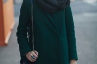 18 Chic Emerald Coats For Winter13