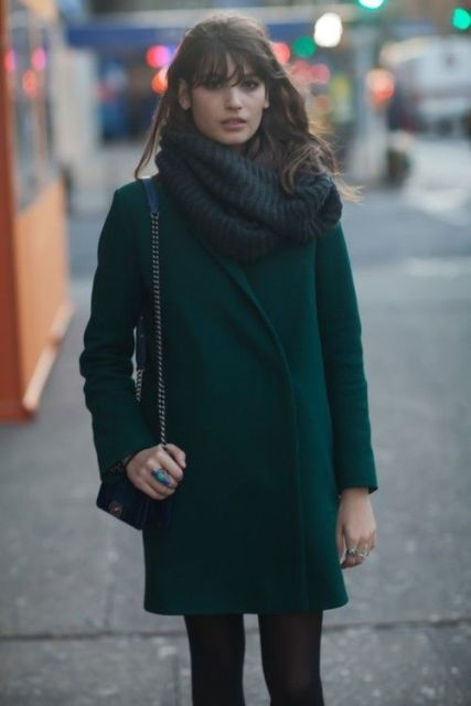 Picture Of Chic Emerald Coats For Winter 13