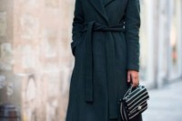 18 Chic Emerald Coats For Winter14