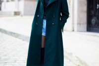 18 Chic Emerald Coats For Winter15