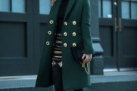 18 Chic Emerald Coats For Winter17