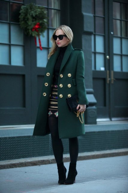 Picture Of Chic Emerald Coats For Winter 17