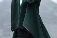 18 Chic Emerald Coats For Winter2