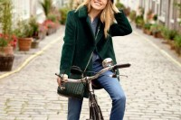 18 Chic Emerald Coats For Winter3