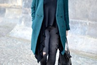 18 Chic Emerald Coats For Winter4