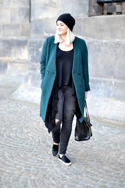 Picture Of Chic Emerald Coats For Winter 4