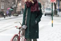18 Chic Emerald Coats For Winter5