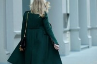 18 Chic Emerald Coats For Winter6