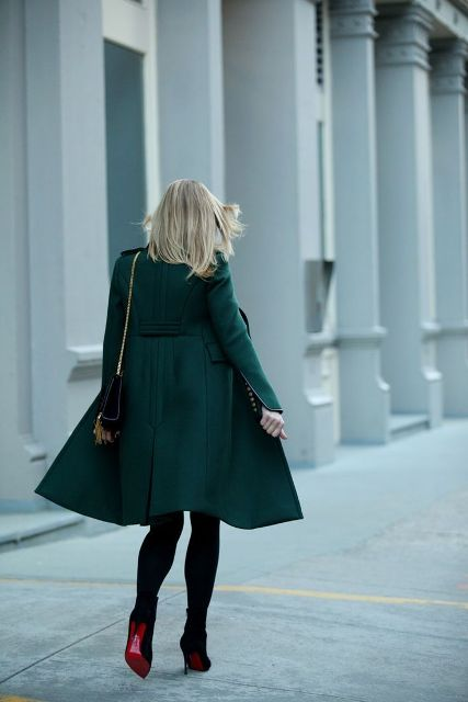 Picture Of Chic Emerald Coats For Winter 6
