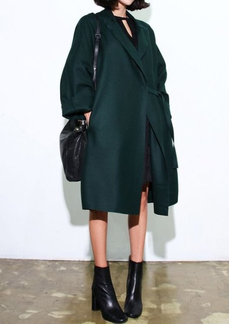 Picture Of Chic Emerald Coats For Winter 7