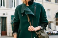 18 Chic Emerald Coats For Winter9