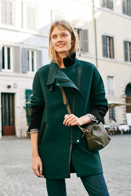 Picture Of Chic Emerald Coats For Winter 9