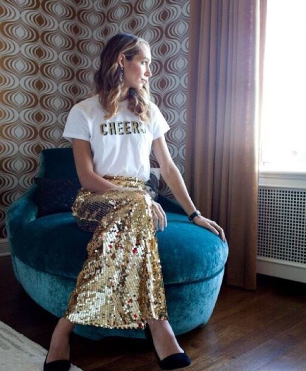 Best Ways To Rock Sequin Maxi Skirt This Holiday Season