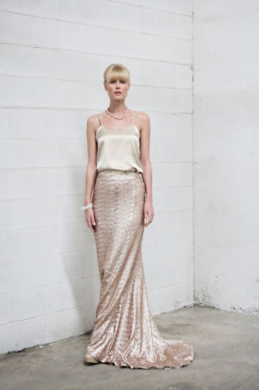 Picture Of best ways to rock sequin maxi skirt this holiday season  15