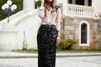 20-best-ways-to-rock-sequin-maxi-skirt-this-holiday-season-2