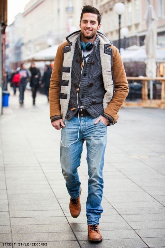 20 Most Stylish Winter Street Style Looks For Men
