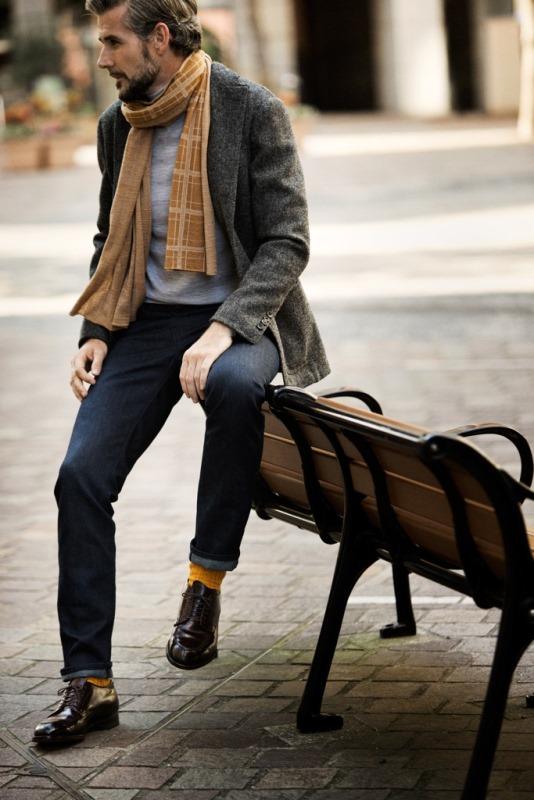 Мужская мода зима 2016: