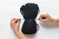 Creative DIY Oversized Pom Pom Scarf10