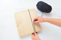 Creative DIY Oversized Pom Pom Scarf4