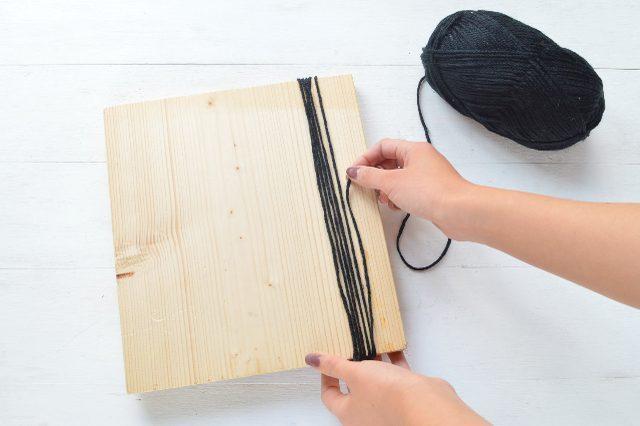Picture Of Creative DIY Oversized Pom Pom Scarf 5