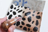Eye-Catching DIY Leopard Mini Pouch5