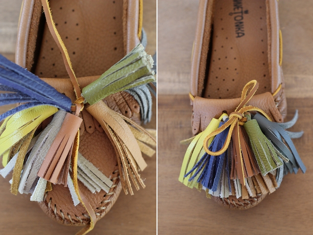 Picture Of Funny DIY Tassel Moccasins 10