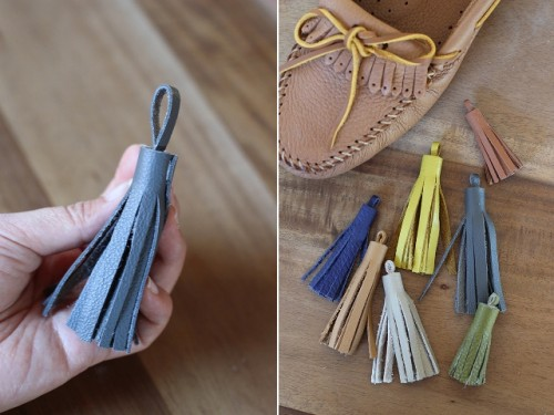 Funny And Colorful DIY Tassel Moccasins