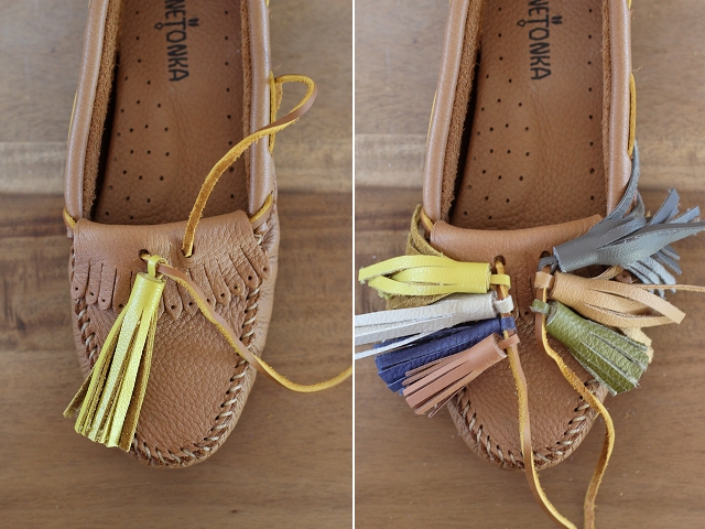 Picture Of Funny DIY Tassel Moccasins 9